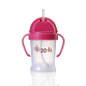Zoli 6oz Straw Sippy Cup- Pink BOT
